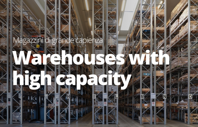 Warehouse with high capacity